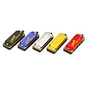 Swan - (SW4-2) 4 Hole 8 Tone Mini Harmonica (Necklace, Random-color)