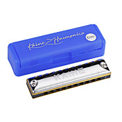 Kaine - (k1003) Blues Harp harmonica 10 holes/20 tons