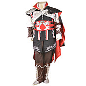 cosplay costume inspiré par l'assassin creed ezio noir black edition