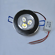 3W LED spot lys med 3 lamper