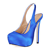 Silk Stiletto Heel Sandals Party/ Evening Shoes(More Colors)