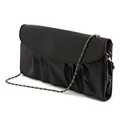 Kvinder Vintage Chain PU Leather Clutch Bag