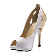 soie aiguilles chaussures  talons de mariage pompes