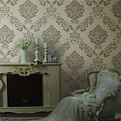 Retro Damask Non-woven Wall Paper 1301-0016
