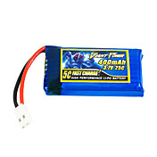 400mAh 3.7V/1S 25C Lipo batteri til RC model