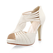 Leatherette Upper Stiletto Heel Gladiator Sandals Party Shoes More Colors Available