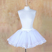Short White Organza Casual Lolita Petticoat