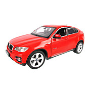 1:24 Scale Metal Statics BMW X6 Diecast Car Model (Random Colors)