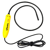 7mm Water Proof USB 2.0 300KP 10X Flexible Kamera Endoskop w / 4-LED - Gelb
