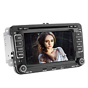 7 tommers Bil DVD spiller for Volkswagen med GPS, TV, iPod, Bluetooth