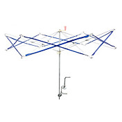 Metal Umbrella Swift Yarn Winder Abedul