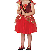 Cute Little Red Devil Kids Halloween Costume