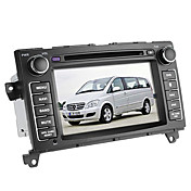 7 pulgadas de coches reproductor de DVD para el Benz Viano (Bluetooth, GPS, iPod, RDS, SD / USB, control del volante, pantalla tctil)