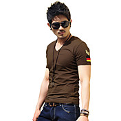 V-Neck Slim T-Shirt (Slim Fit)