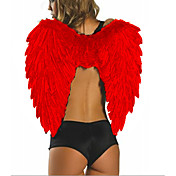 Sexy Women Red Feather Angel Wings(1 Pieces)