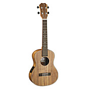 TOM - (TUT-700E) Laminated Koa Tenor Electric Ukulele with Bag