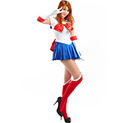 cosplay drkt inspirerad av Sailor Moon Usagi Tsukino / Sailor Moon