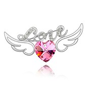 Nice Alloy With Rhinestones Brooch (More Colors)