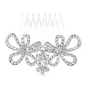 Simple Alloy With Rhinestone Women's Hair Combs