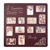 "6"" Family Theme Square Picture Frame"