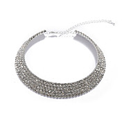 Gorgeous Crystal Collar Necklace For Wedding/Evening