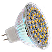 MR16 3W 48x3528 SMD 120-150LM 2800-3200K Warm White Light LED Corn Bulb (12V)
