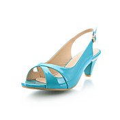 Patent Leather Chunky Heel Sandals Party / Evening Shoes (More Colors)