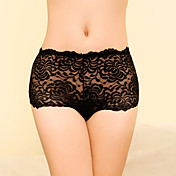 Women's Seductive High Rise Seamless Lace Panties(Waist:60-80cm,Hip:98cm)