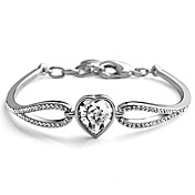 Pretty Alloy With Crystal / Rhinestone Women's Bracelet (More Colors)