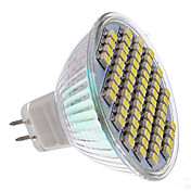 MR16 60x3528 SMD 3-3.5W 150-180LM 6000-6500K Natural White Light LED Spot Bulb (12V)