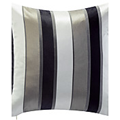 Modern Stripe Pattern Jacquard Decorative Pillow Cover