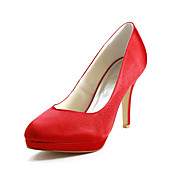 Satin Stiletto Heel Pumps Wedding Shoes (More Colors)