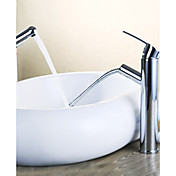 Contemporary Pull-out Brass Chrome Finish Kitchen Faucet