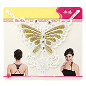 Jolie conception de papillon Bra Strap Fashion