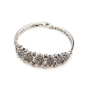 Lovable Alloy With Rhinestone Women's Bracelets
