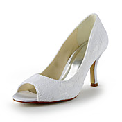 Gorgeous Lace Stiletto Heel Peep Toe Wedding Shoes (More Colors)