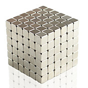 5mm 216pcs Magnetic Cube with Gift Box (Silver)