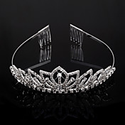 Clear Crystals Wedding Bridal Tiara