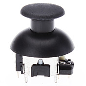 Replacement 3D Vibrating Rocker Joystick Cap Shell Mushroom Caps for PS3 Wireless Controller (Metal Chip)