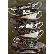 Printed Art Still Life Afternoon II by Color Bakery