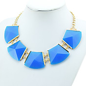 Fashion Alloy Multi-stone Women's Necklace(More Colors)