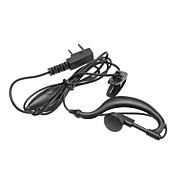 Two Way Radio Handsfree Ear Hook Microphone Earphone DQ-PVC-101