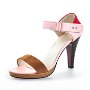 Chic Leatherette Stiletto Heel Sandals With Split Joint Party / Evening Shoes (More Colors)