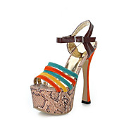 Fashion PU Stiletto Heel Sandals  With Platform Party / Evening Shoes(More Colors)