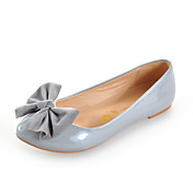 Leatherette Flat Heel Pointy Toe With Bowknot Casual / Party / Evening Shoes (More Colors)