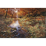 Printed Art Landscape Autumn Gold by Bill Makinson