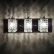 180W Modern Wall Light with 3 Light and Crystal Beaded Pendants