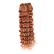 "16"" 100% Indian Remy Hair Mixed Color Popular Wave Wefted Hair Extensions"