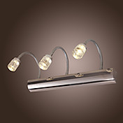 3W LED Wall Light in Stainless Steel