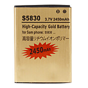 Cell Phone Battery for Samsung S5830(3.7V, 2450 mAh)